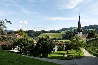 Signau - The village church of Signau