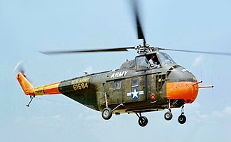 Sikorsky H-19 Chickasaw - An Army UH-19D Chickasaw