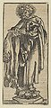 Silver Statuette of St. Bartholomew, from the Wittenberg Reliquaries MET DP842088.jpg