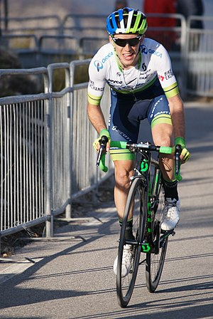 Simon Yates (cyclist) - Yates at the 2016 Paris-Nice