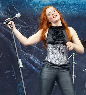 Epica (band) - Simone Simons, Epica's lead singer and frontwoman