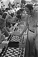 Simultaanschaakwedstrijd RAI, Kavalek bij schaakborden, Bestanddeelnr 926-5939.jpg