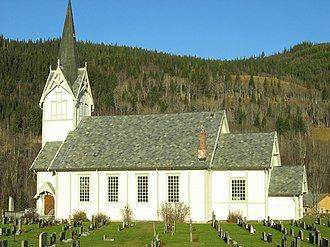 Singsås Church - Image: Singsås kyrkje 01