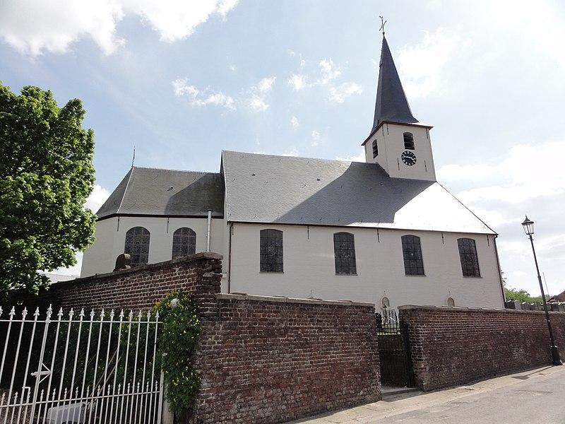 Sint-Corneliuskerk (Church of Saint Cornelius) in Sint-Kornelis-Horebeke. Sint-Kornelis-Horebeke, Horebeke, East Flanders, Belgium