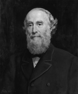 George Williams (YMCA) - Image: Sir George Williams by John Collier