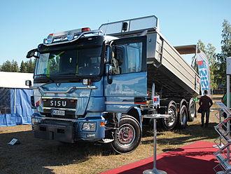 Sisu Auto - 2013 Sisu Polar Works road maintenance truck.