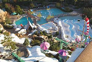Disney's Blizzard Beach - An overview of Ski Patrol and the Chairlift