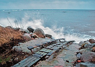Slipway - An old and simple slipway for smaller boats.Ystad/Sweden