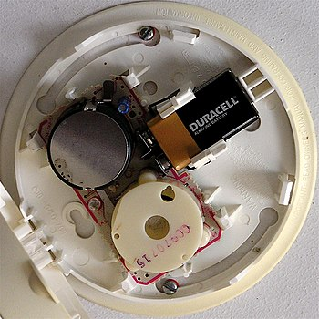 English: smoke detector squircle