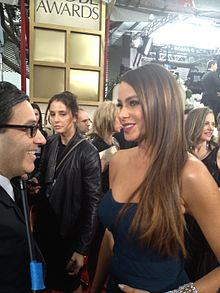 Wikipedia: Sofia Vergara at Wikipedia: 220px-Sofia_Vergara_%40_69th_Annual_Golden_Globes_Awards