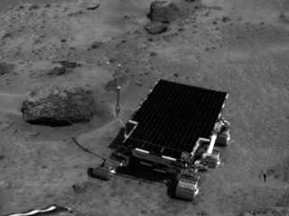 Barnacle Bill (Martian rock) rock on Mars