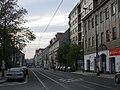Sokolovská, Karlínské náměstí směr západ.jpg