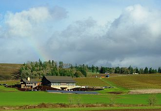 Yamhill County, Oregon - Soléna and Grand Cru Estates winery