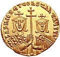 Solidus Basileios I Constantine (reverse).jpg