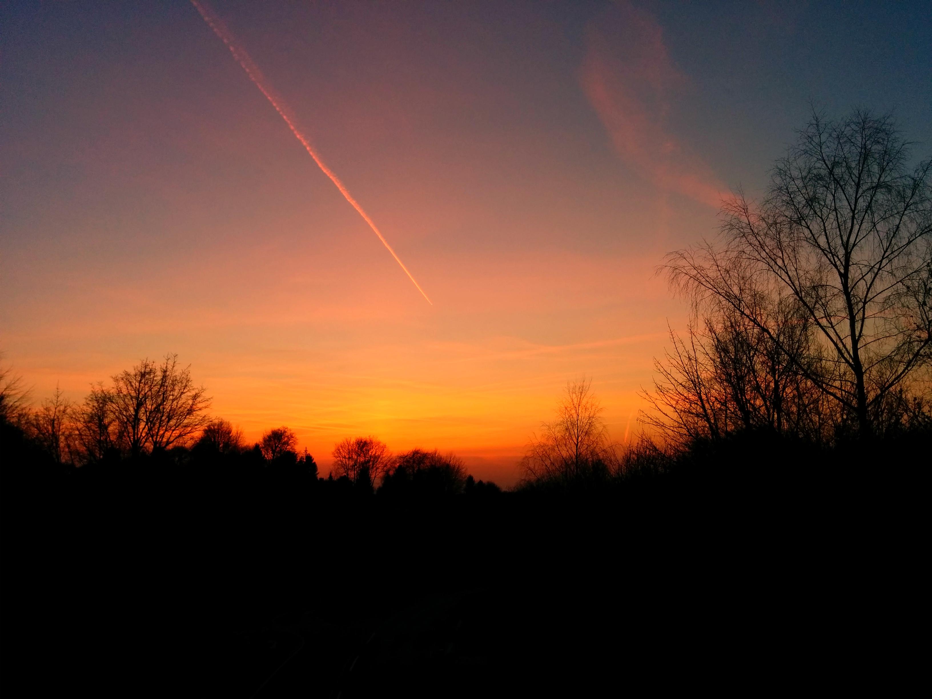Sonnenuntergang auf Lichtscheid