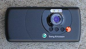 Sony Ericsson W810 - Sony Ericsson W810i rear