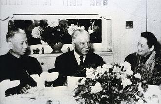 Liu Shaoqi - Liu Shaoqi, Klim Voroshilov and Soong Ching-ling in Shanghai