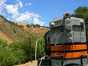 Southern Pacific 5623 - SP5623 operating on the Niles Canyon Railway