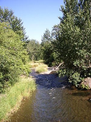 Walla Walla River - Image: South Fork WW