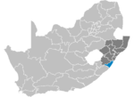 South Africa Districts showing Ugu.png