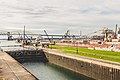 South Canal, Soo Locks, Sault Ste Marie, Michigan (33158274271).jpg