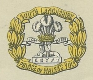 5th Battalion, South Lancashire Regiment - Image: South Lancashire Regiment Badge