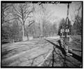 South end, closeup view. - Pendleton Avenue Bridge, Spanning Fall Creek, Pendleton, Madison County, IN HAER IND,48-PEN,1-3.tif