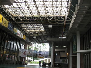 Southeastern Louisiana University - Commons Area in Southeastern's War Memorial Student Union