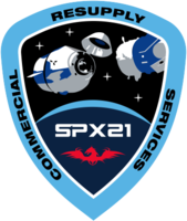 Emblemat SpaceX CRS-21