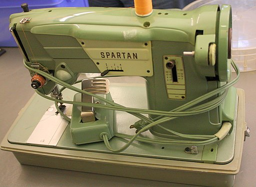 Spartan sewing machine (6281208149)