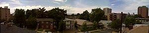 Speer, Denver - Central view of the Speer Neighborhood near Clarkson and Ellsworth.