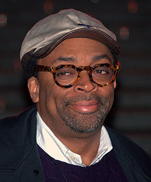 Spike Lee - the cool, hot,  actor, director,   with Afro-American, English,  roots in 2019