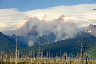 Sprague Fire - Sprague Fire on August 18, 2017