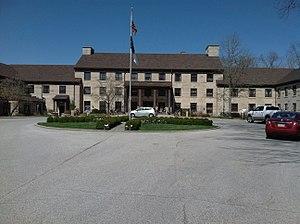 Spring Mill State Park - Image: Spring Mill Inn