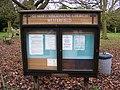 St.Mary Maglalene Church Notice Board, Westerfield - geograph.org.uk - 1127984.jpg