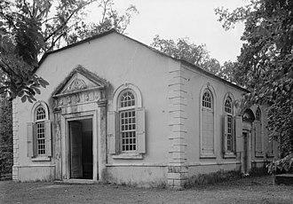 St. James Church (Goose Creek, South Carolina) - 1940 HABS photo