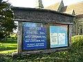 St. John's church, Marchington Woodlands, notice board - geograph.org.uk - 1036007.jpg