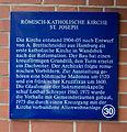 St. Joseph Wandsbek blaue Tafel.jpg