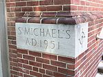 St. Michael's Church cornerstone SS MD.JPG