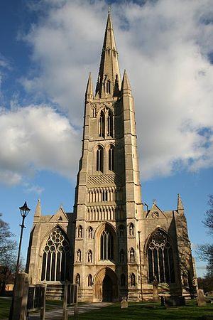 St Wulfram's Church, Grantham - Image: St. Wilfrums Church
