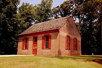 St. Martin's Episcopal Church (Showell, Maryland) - Image: St Martins Ext LR Walls
