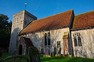 Tilmanstone village in United Kingdom