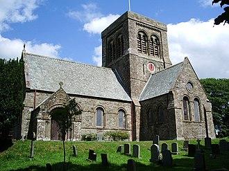 Bridekirk - Image: St Bridget's Church, Bridekirk geograph.org.uk 474493