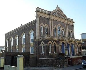 St Leonard's Baptist Church, St Leonards-on-Sea - The church from the southeast
