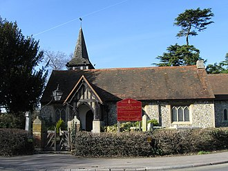 Chessington - St Mary's Church, Chessington