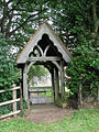 St Mary's church - the lych gate - geograph.org.uk - 1401985.jpg