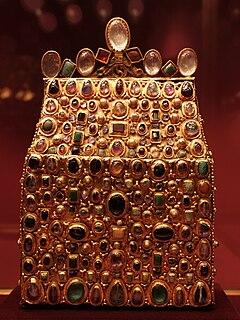 9th century reliquary