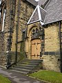 St Thomas, The Parish of Greetland and West Vale, Doorway - geograph.org.uk - 1116271.jpg