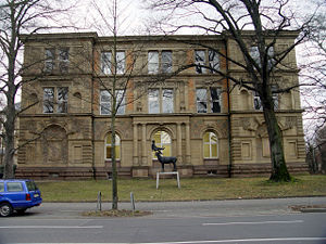 Academy of Fine Arts, Karlsruhe - The main building of the Academy of Fine Arts Karlsruhe