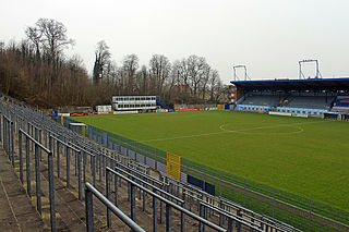 Stade Joseph Marien stadium in Belgium